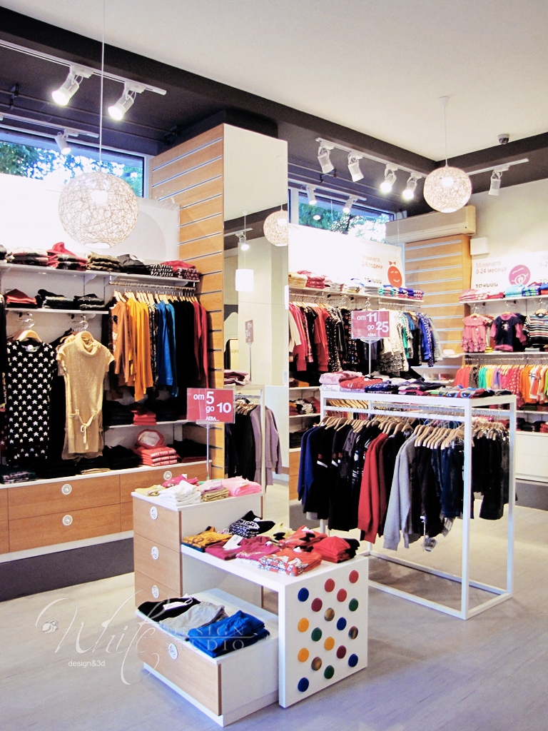 Dots fashion clothing store